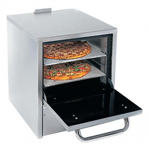 Horno de pizza con dos compartimiento a gas 24 for Horno de piedra para pizza