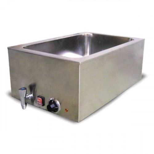 Calentador mantenedor de comida tipo ba o maria electrico for Perchero electrico para bano